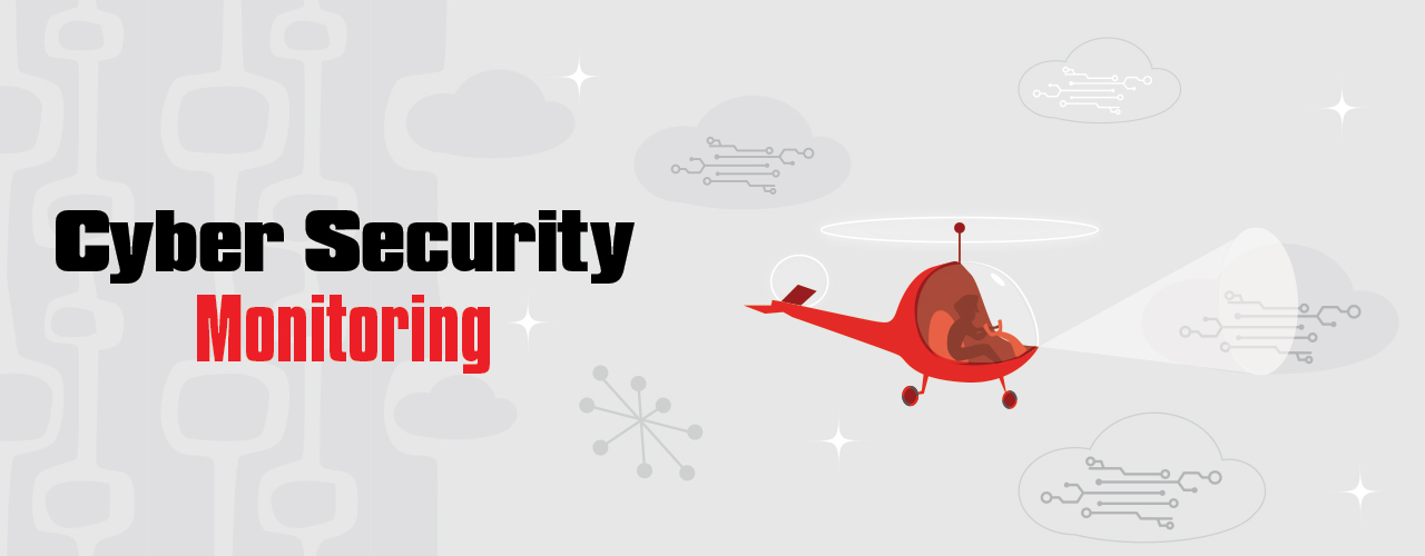Cyber Security monitoring banner