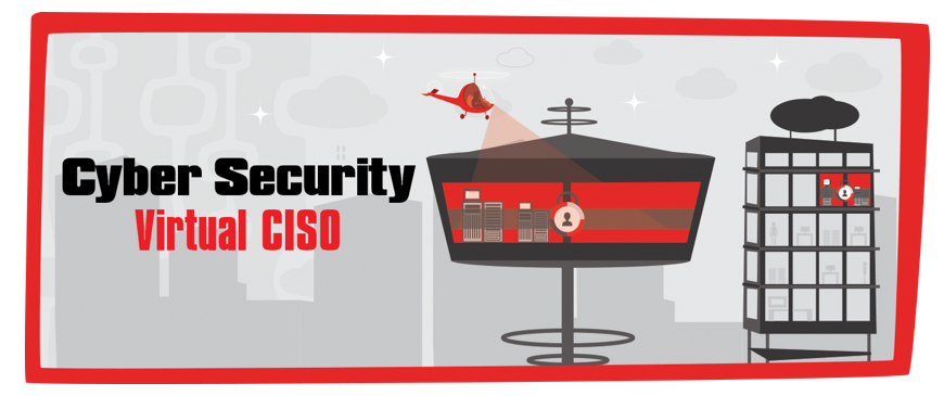 Cyber security virtual CISO graphic