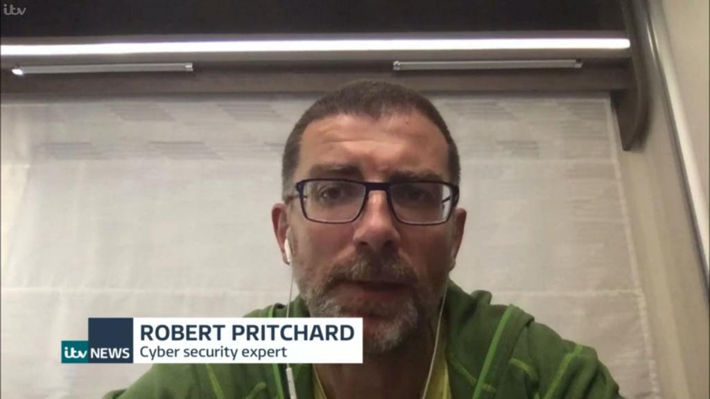 Rob on ITV News